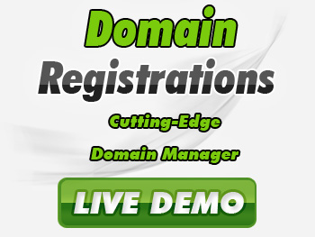 Cut-rate domain registration services